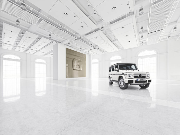 "Even more individuality ex factory: ""designo manufaktur"" for the G-Class"