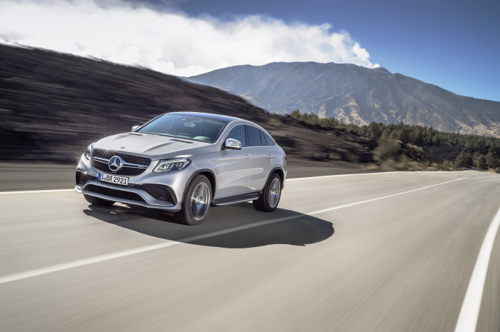 The new Mercedes-AMG GLE 63 Coupé 4MATIC: Driving performance reinterpreted