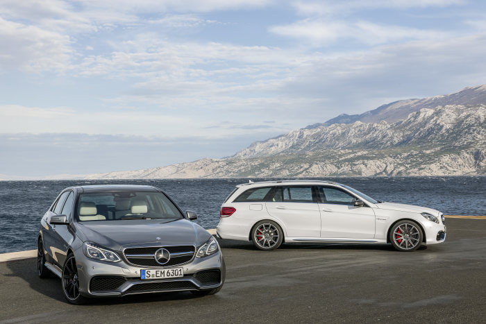 A new benchmark in performance, dynamism and efficiency: The new E 63 AMG – with 4MATIC and as S-Model