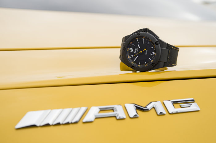 IWC Schaffhausen and Mercedes-AMG celebrate ten years of partnership: Ingenieur Automatic 'AMG GT' edition – the first boron carbide watch