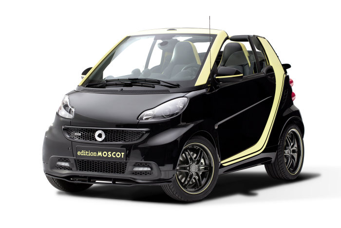smart fortwo edition MOSCOT: Special edition smart fortwo cabrio with cult appeal
