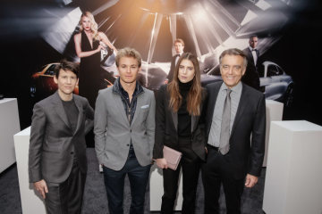 Mercedes-Benz devotes itself to fashion - Autumn/Winter 2015: Dree Hemingway, Collier Schorr and Nico Rosberg talk to the press about the new Mercedes-Benz fashion campaign