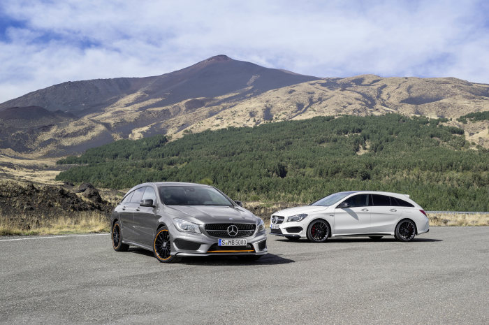 Market launch next weekend: New CLA Shooting Brake now in the showroom