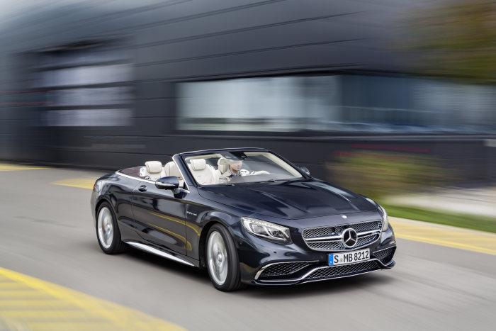 The new Mercedes-AMG S 65 Cabriolet: Open-top driving with prestige and performance