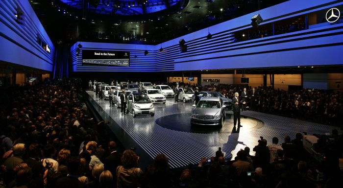 "62nd IAA, 2007: ""TrueBlueSolutions"" from the inventors of the automobile: Mercedes-Benz presents the future of the premium car at the Frankfurt Motor Show"