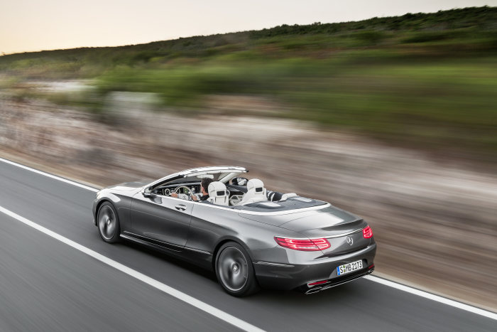 S-Class Cabriolet now available to order