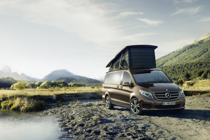 The new Marco Polo from Mercedes-Benz: The new style in independence