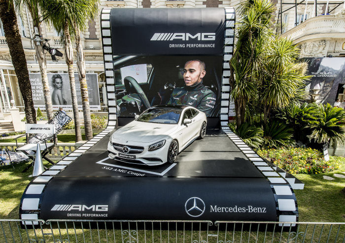 Mercedes-Benz and Mercedes-AMG at the Cannes Film Festival: Charity auction of an S 63 AMG Coupé for the benefit of the amfAR Foundation