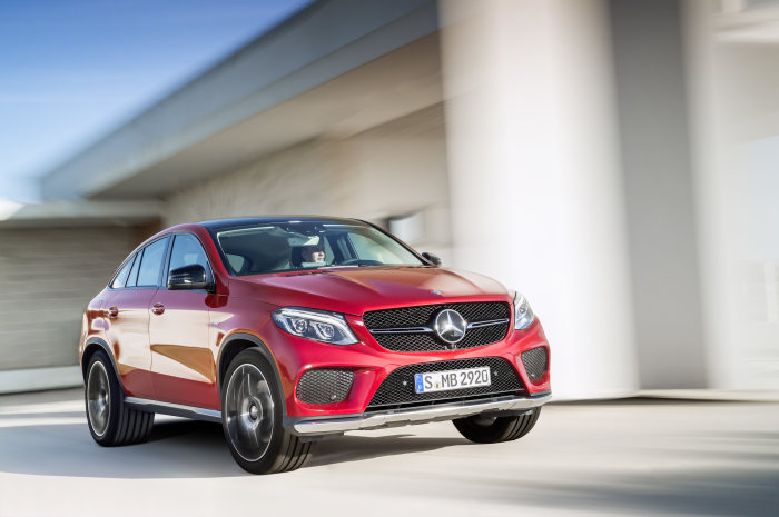 Premiere: Mercedes-Benz GLE Coupé - A sportier choice