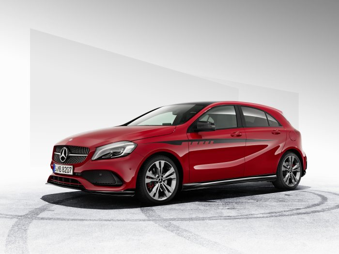 Now available, exclusive AMG body kit for the A-Class: For an even sportier A-Class