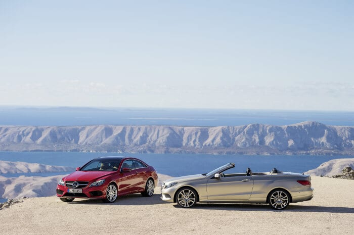 New E-Class Coupé and Cabriolet available at dealers starting in June: Passionate driving enjoyment