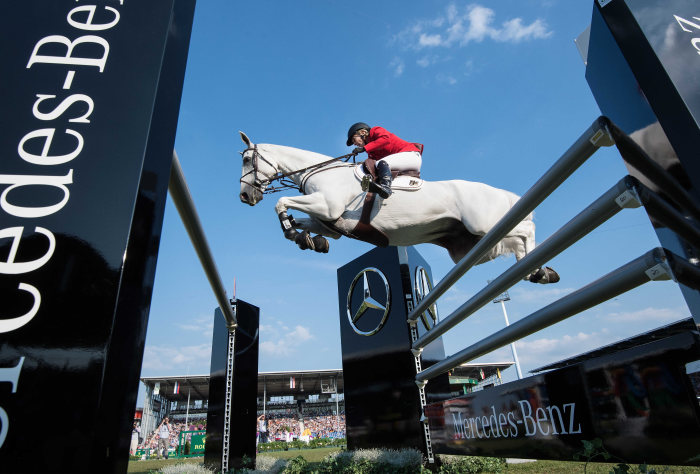 FEI European Championships 2015: German team picks up silver in the Mercedes-Benz Prize