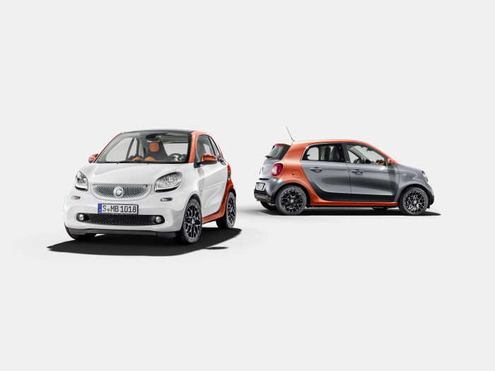 The new smart fortwo & forfour: Adding a new shine to a proven concept