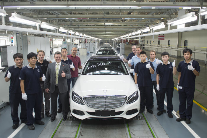 Start of Production in Beijing: New long-wheelbase C-Class strengthens Mercedes-Benz' China portfolio