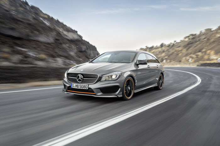 Sales release of the CLA Shooting Brake: Practicality in its most beautiful guise – or: Beautifully practical