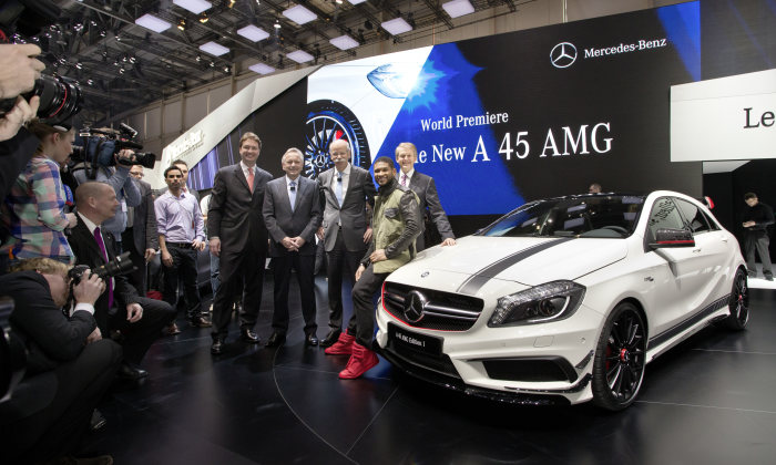 Mercedes-Benz at the 83rd Geneva Motor Show 2013: Efficient performance in all classes