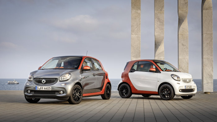 New vehicle generation provides foundation for growth - 2015: smart accelerates its success
