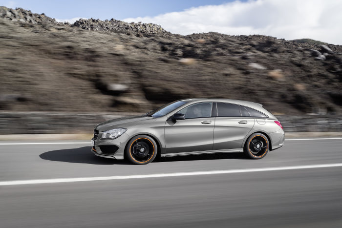 The new Mercedes-Benz CLA Shooting Brake: Space for something new