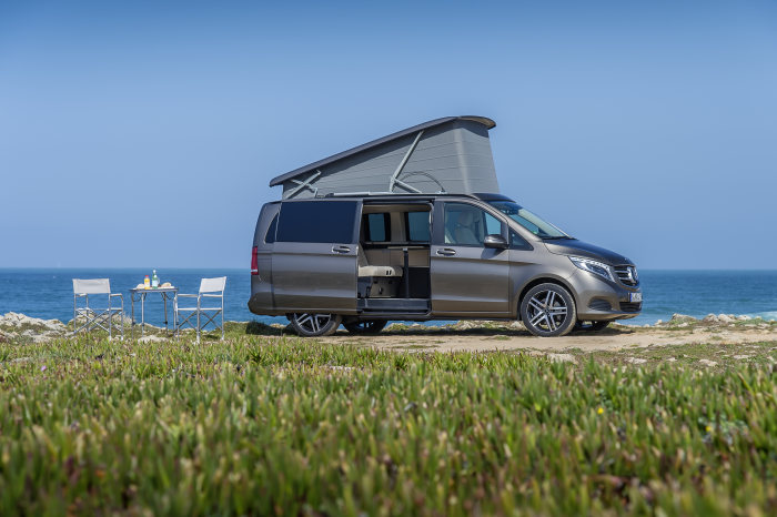 Mercedes-Benz Vans at the International Exhibition for Caravanning, Motoring and Tourism (CMT) 2016: Numerous new features setting individual highlights in the camper van market