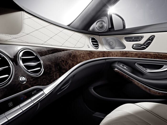 "The ten best interior designs 2014: S-Class interior: ""Without parallel worldwide"""
