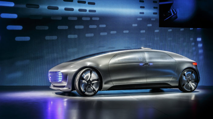 World premiere of the Mercedes-Benz F 015: Luxury in Motion at the CES
