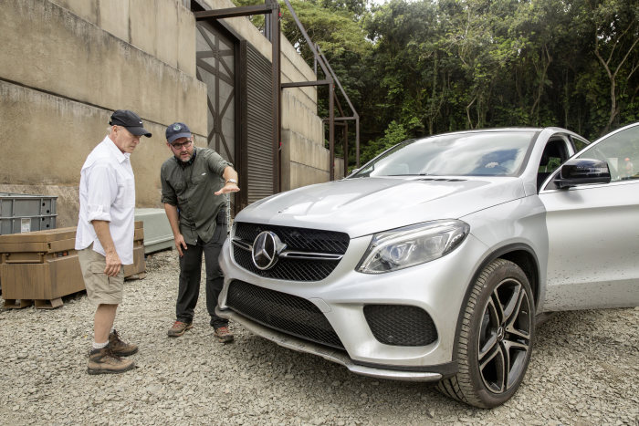 Mercedes Continues Its Decades Long Relationship with Universal: Mercedes-Benz GLE Coupé launches in Universal Pictures' Jurassic World