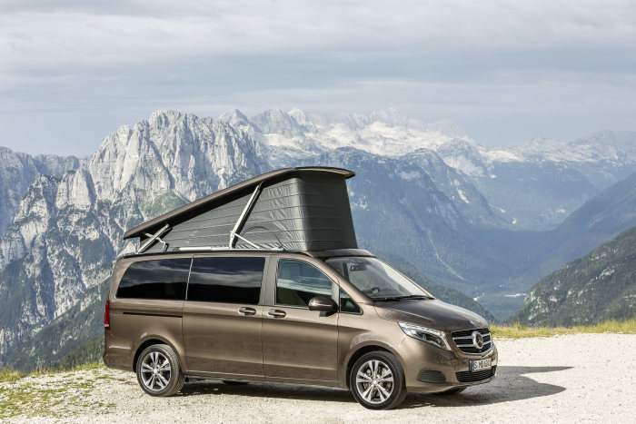Mercedes-Benz Vans wins promobil's Reader's Choice Award: Marco Polo named compact camper van of the year 2015