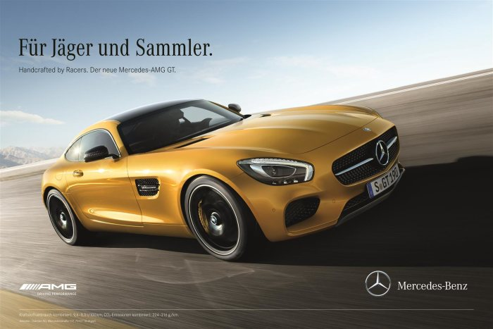 Integrated market launch campaign on all channels: Curtain up for the Mercedes-AMG GT