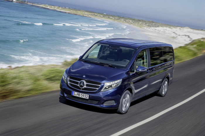 "New V-Class wins renowned design prize: New V-Class receives ""Red Dot Award: Product Design 2014"""
