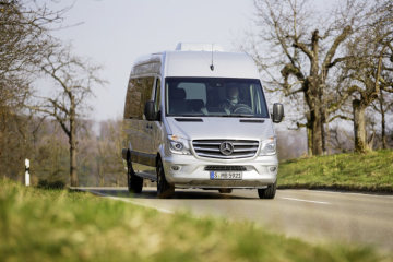 "20 years of the Mercedes-Benz Sprinter: ""Edition Sprinter"": exclusively equipped special model to mark the 20th anniversary of the best-selling van"