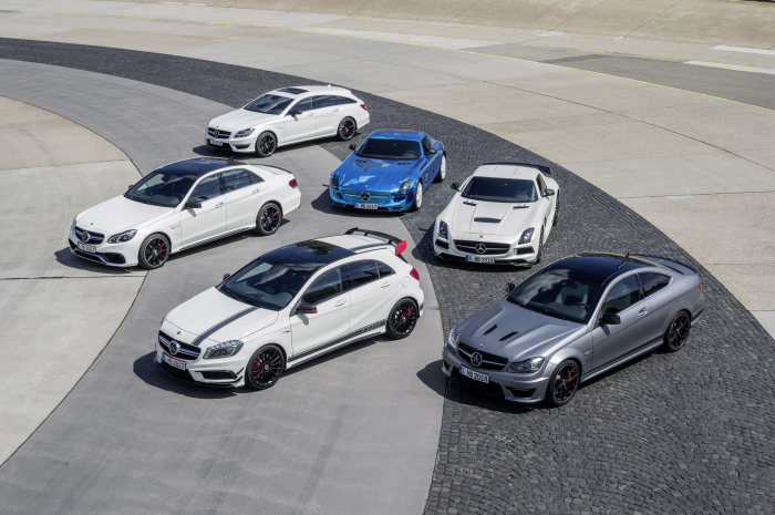 Market launch for 18 new AMG high-performance models: Performance meets efficiency