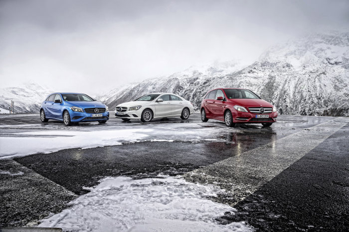 News on the A, B and CLA-Class: New segment-leading fuel consumption figures