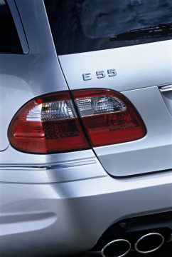 Mercedes-AMG, E-Class, E 55 AMG, estate, detail: tail lamps