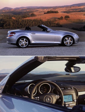 The new Mercedes-Benz SLK-Class - World premiere at the 2004 Geneva Motor Show
