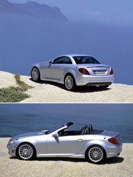 The new Mercedes-Benz SLK-Class: More power, more safety, more driving pleasure