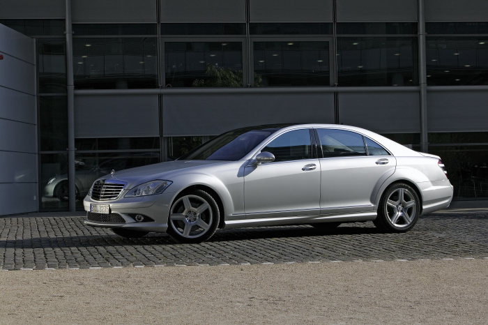 Mercedes-Benz S-Class, stationary shot, exterior