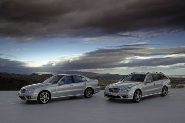 Mercedes-Benz E-Class, E 63 AMG, sedan and estate, exterior