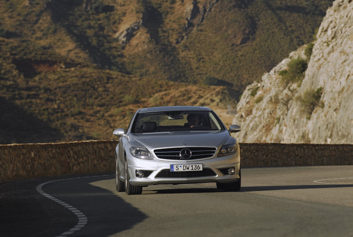 Mercedes-Benz CL-Class, CL 63 AMG, driving shot, exterior