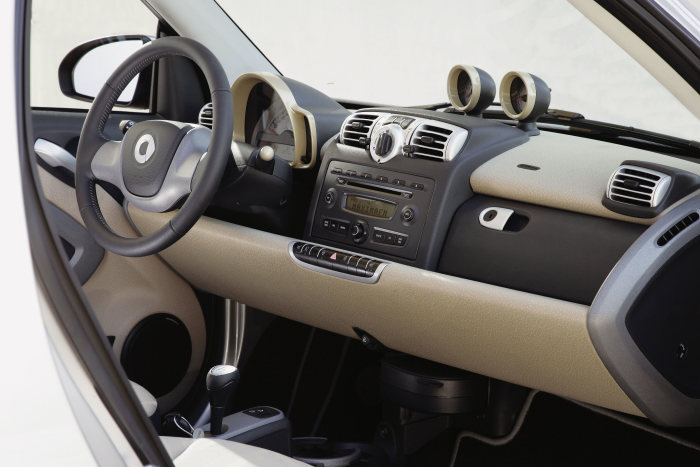 smart fortwo cdi, Interieur