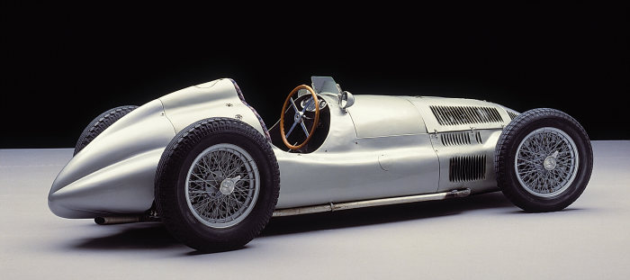 Mercedes-Benz W 165: The winning car in the Tripoli Grand Prix on May 7, 1939.