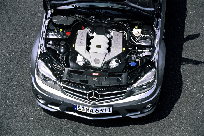 Mercedes-Benz C-Class C 63 AMG, engine compartment