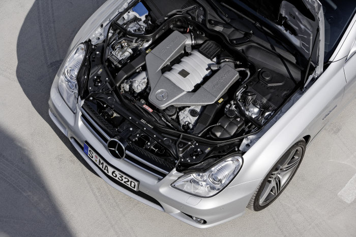 Mercedes-Benz CLS-Class, CLS 63 AMG, engine compartment