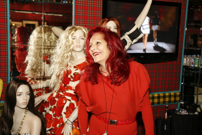 "Patricia Field presented her fashion collection for Stars of the upcoming movie ""Sex and the City"" at the Mercedes-Benz Fashion Week New York 2008."
