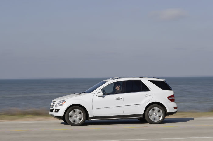 Mercedes-Benz M-Class, ML 320 BlueTEC, exterior