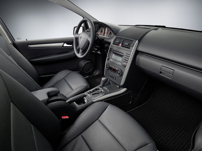 The new generation A-Class: Mercedes-Benz A 170 Coupé, interior