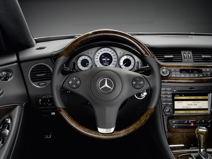 Mercedes-Benz CLS Grand Edition, interior