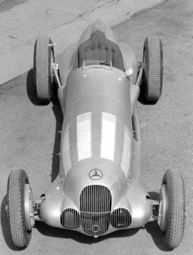 Mercedes-Benz formula racing car W 125, 1937.