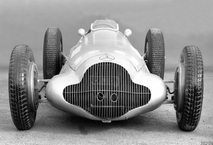 Mercedes-Benz  formula racing car W 154, 1938.