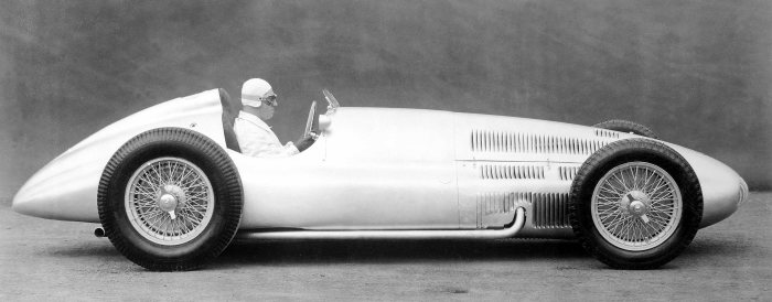 Mercedes-Benz W 154 / M 163, formula racing car, 1939.