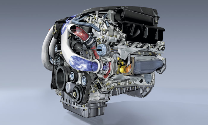 The new V-engine generation from Mercedes-Benz: The new V8 engine